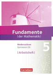 Fundamente der Mathematik, Gymnasium Niedersachsen G9: 5. Schuljahr, Arbeitsheft