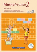 Mathefreunde, Ausgabe Nord 2015: 2. Schuljahr, Arbeitsheft