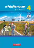 mathewerkstatt - Mittlerer Schulabschluss Baden-Württemberg: Schülerbuch; Bd.4