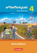 mathewerkstatt - Mittlerer Schulabschluss Baden-Württemberg: Materialblock; Bd.4