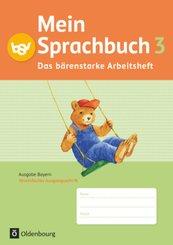 Mein Sprachbuch - Ausgabe Bayern - 3. Jahrgangsstufe