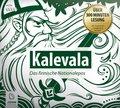Kalevala: Das finnische Nationalepos, 4 Audio-CDs