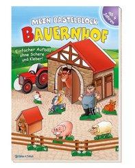 Mein Bastelblock Bauernhof