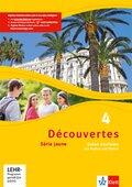 Découvertes - Série jaune: Cahier d'activités mit MP3-CD und Video-DVD; Bd.4