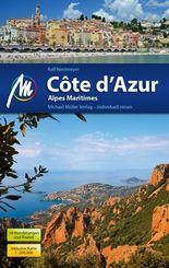 Côte d'Azur, m. Karte