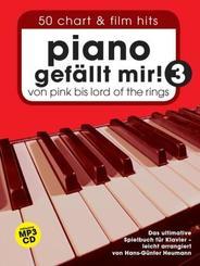 Piano gefällt mir!, m. MP3-CD - Bd.3