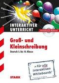 Interaktiver Unterricht: Groß- und Kleinschreibung - Deutsch 5. bis 10. Klasse, CD-ROM