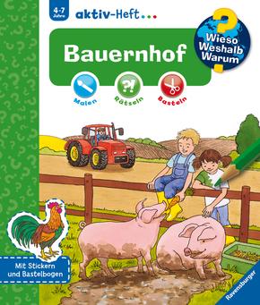 Bauernhof - Wieso? Weshalb? Warum? aktiv-Heft