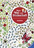 Mein Mal- und Stickerheft: Insekten