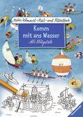 Mein Wimmel-Mal- und Rätselbuch: Komm mit ans Wasser