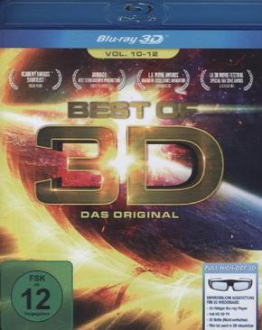 Best of 3D - Vol. 10-12, 1 Blu-ray