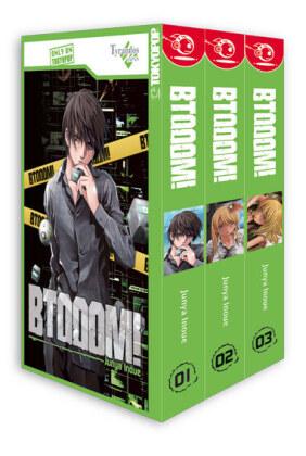 BTOOOM!, 3 Bde. - Box.1