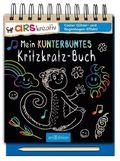 Mein kunterbuntes Kritzkratz-Buch, m.Holzstift
