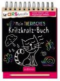 Mein tierisches Kritzkratz-Buch, m. Holzstift