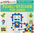Pixel-Sticker für Jungs (Mit 2500 Stickern!)