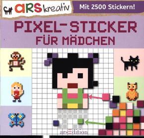Pixel-Sticker für Mädchen - Mit 2500 Stickern!