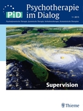 Psychotherapie im Dialog (PiD): Supervision; Nr.1/2015