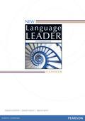 New Language Leader: Intermediate Coursebook