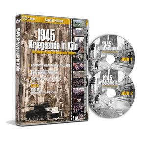 1945 - Kriegsende in Köln, 2 DVDs