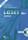 Laser A1+: Workbook without key, w. Audio-CD