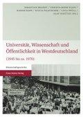 Universität, Wissenschaft und Öffentlichkeit in Westdeutschland