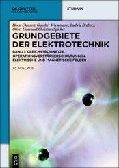 Grundgebiete der Elektrotechnik: Gleichstromnetze, Operationsverstärkerschaltungen, elektrische und magnetische Felder