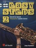 Easy Steps für Altsaxophon, m. 2 Audio-CDs + CD-ROM - Vol.2
