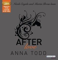 After love, 3 MP3-CDs