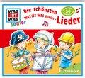 Die schönsten Junior Lieder, 1 Audio-CD - Was ist was junior