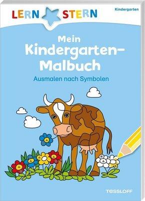 Mein Kindergarten-Malbuch. Ausmalen nach Symbolen