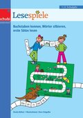 Lesespiele 1./2. Schuljahr - Buchstaben kennen, Wörter silbieren, erste Sätze lesen