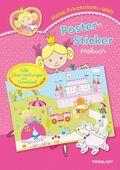 Meine Prinzessinnen-Welt: Poster-Sticker Malbuch