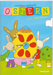 Mein buntes Malbuch Ostern. 1, 2, 3... Oster-Malerei