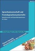 Sprachwissenschaft und Fremdsprachenunterricht: