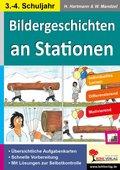 Bildergeschichten an Stationen, 3.-4. Schuljahr