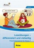 Leseübungen - differenziert und vielseitig