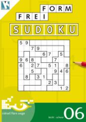 Freiform-Sudoku Rätselbuch - Bd.6