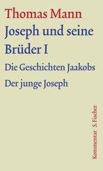 Große kommentierte Frankfurter Ausgabe: Joseph und seine Brüder - Tl.1