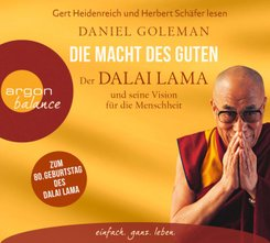 Die Macht des Guten - Der Dalai Lama und seine Vision für die Menschheit, 3 Audio-CDs
