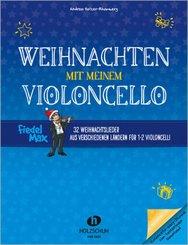 Fiedel-Max - Weihnachten mit meinem Violoncello, für 1-2 Violoncelli