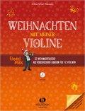 Fiedel-Max - Weihnachten mit meiner Violine,  für 1-2 Violinen, m. Audio-CD
