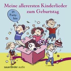 Meine allerersten Kinderlieder zum Geburtstag, 1 Audio-CD