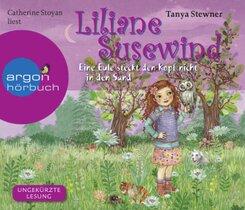 Liliane Susewind - Eine Eule steckt den Kopf nicht in den Sand, 4 Audio-CDs