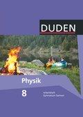 Duden Physik, Ausgabe Gymnasium Sachsen: 8. Schuljahr, Arbeitsheft