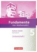 Fundamente der Mathematik, Gymnasium Sachsen-Anhalt: 5. Schuljahr, Arbeitsheft