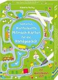 Kunterbunte Mitmach-Karten für das Handgepäck