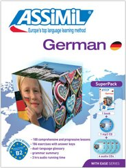Assimil German With Ease: Lehrbuch + 4 Audio-CDs + 1 MP3-CD