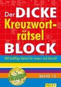 Der dicke Kreuzworträtsel-Block - Bd.15