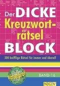 Der dicke Kreuzworträtsel-Block - Bd.16