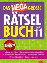 Das megagroße Rätselbuch - Bd.11